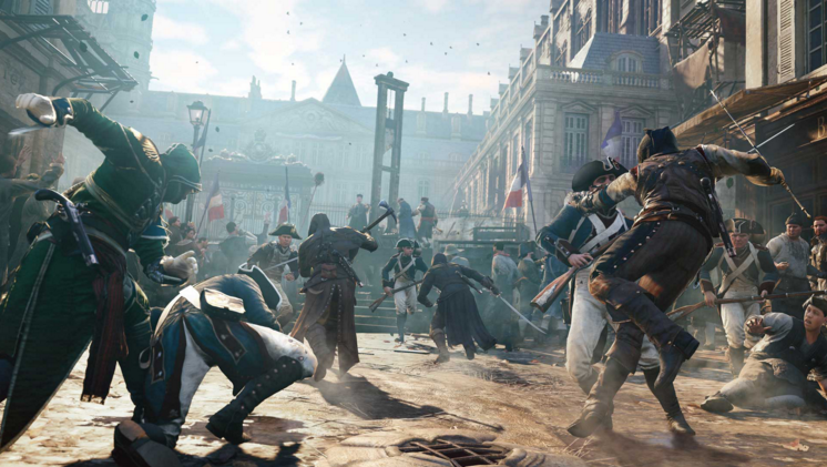 Assassin's Creed Unity Crash