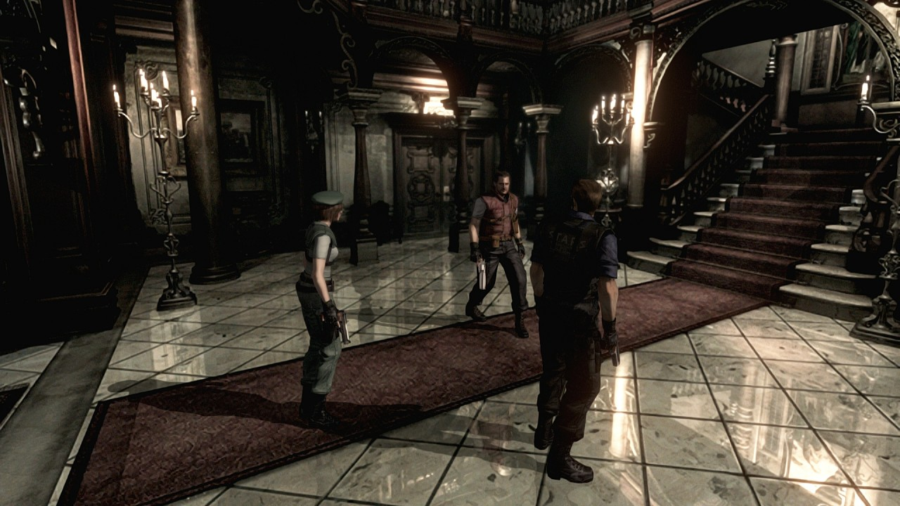 Resident Evil HD Remaster Errors