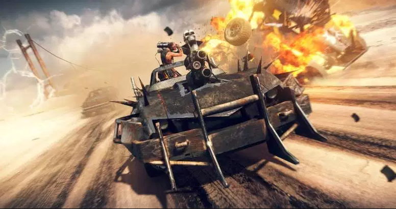 Mad Max Crash