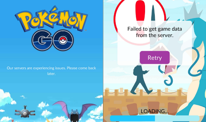 Pokemon GO Server Issue