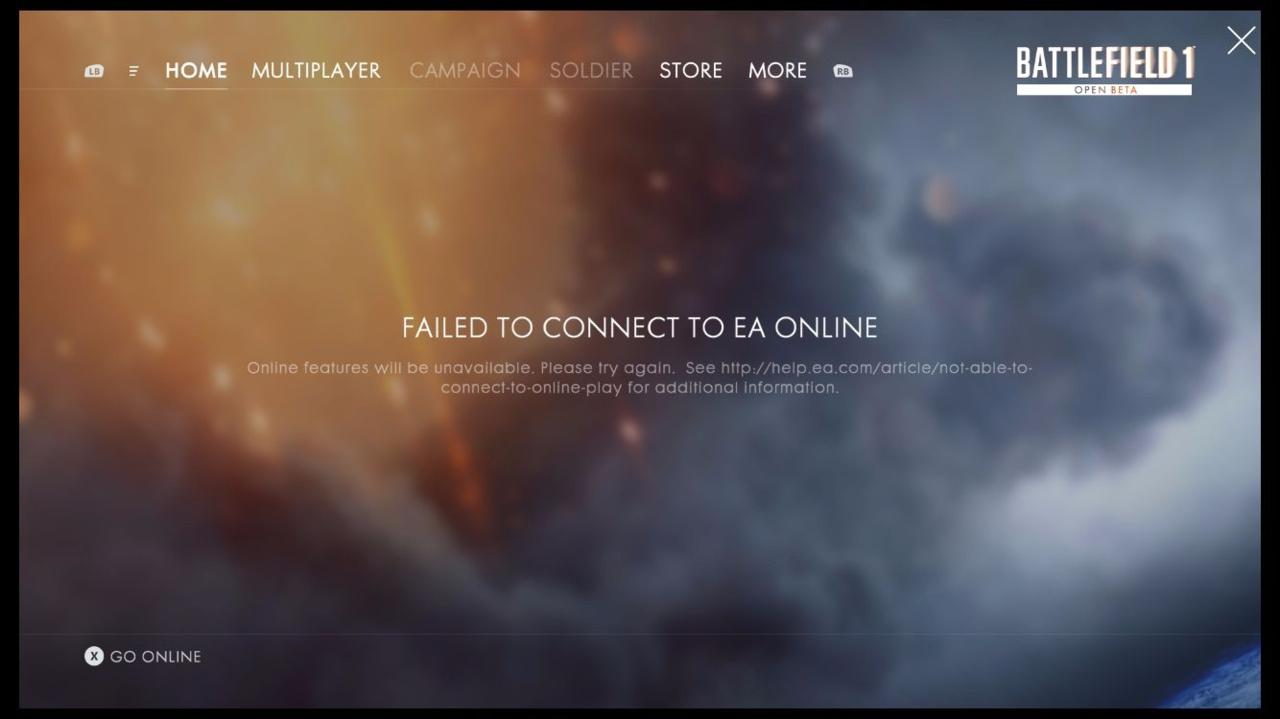 Battlefield Beta Server Issues