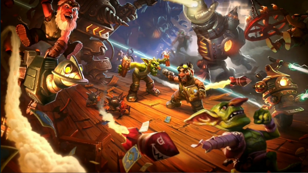 Hearthstone Expansion Goblins vs. Gnomes Now Live