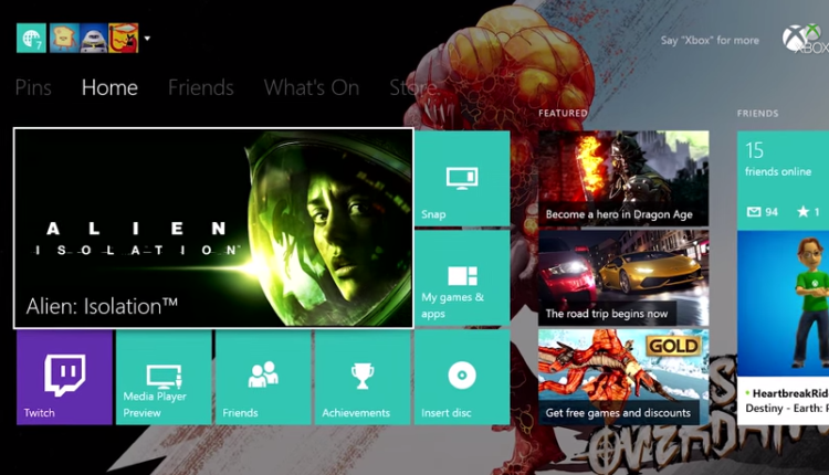 New Big Xbox One System Update was Released Today