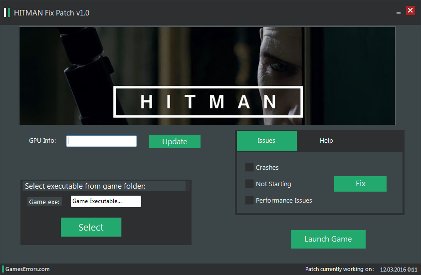 Manual to repair Hitman: Contracts patch don't run