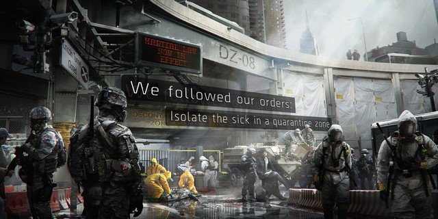Tom Clancy's The Division Crash