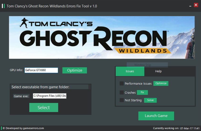 How To Fix Tom Clancys Ghost Recon Wildlands Errors Crashes